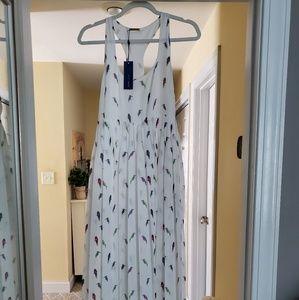 Rebecca Minkoff Bird Print Maxi Dress (4)